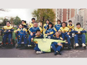 1997: il Magic Torino vince lo Scudetto di wheelchair hockey
