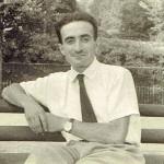 Ettore Serafino in una foto del 1947